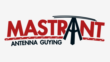 Mastrand - Antenne guying